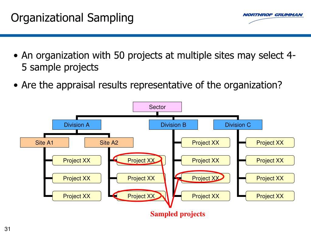 Organizational Sampling
