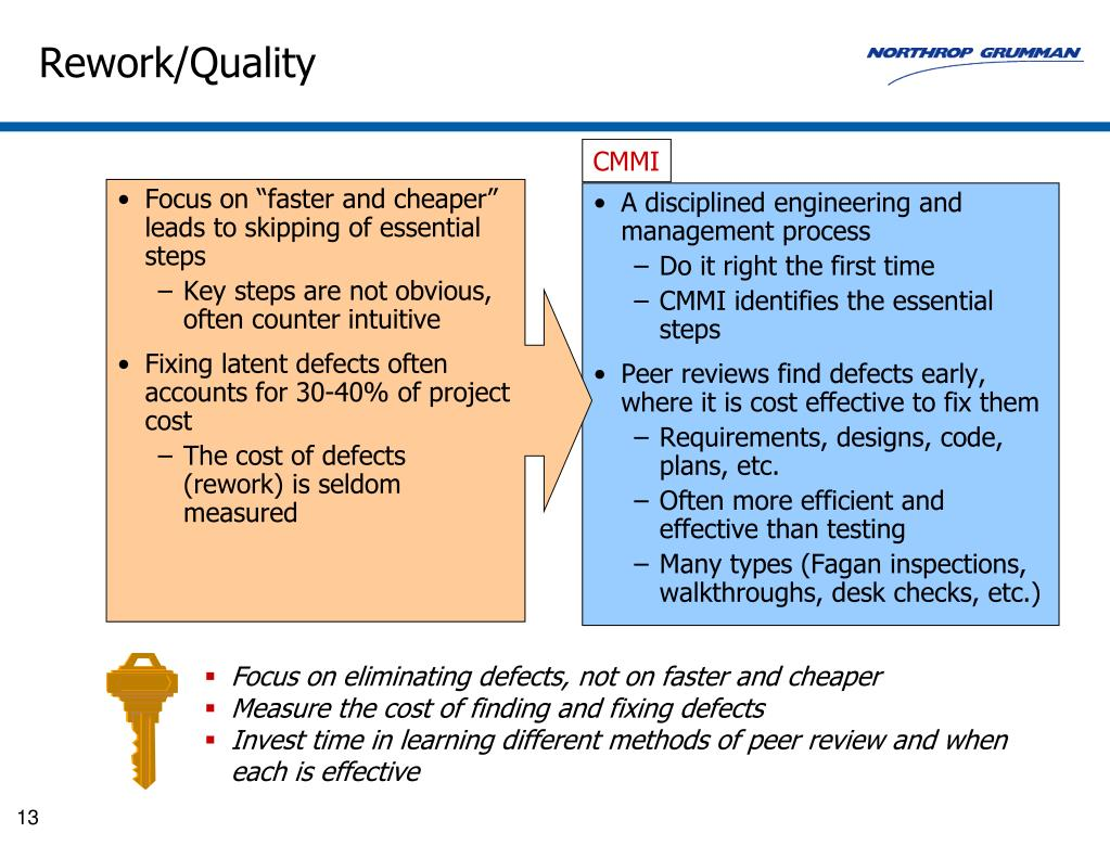 A disciplined engineering and management process