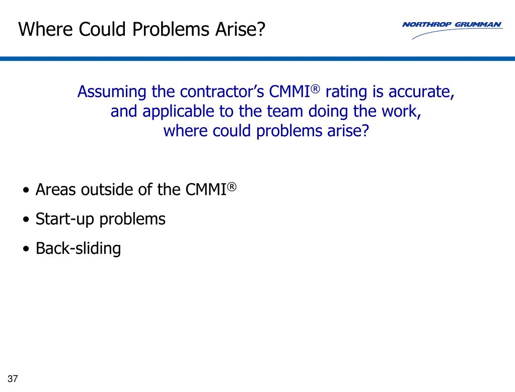 Where Could Problems Arise?