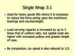 single wrap 3 1