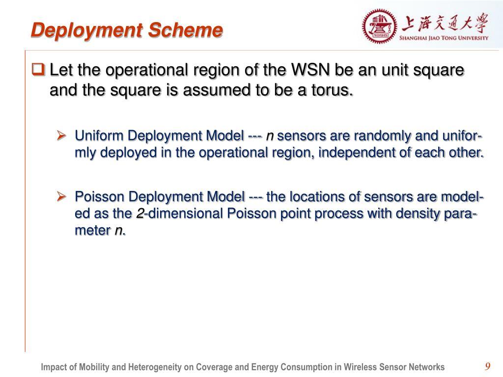 Deployment Scheme