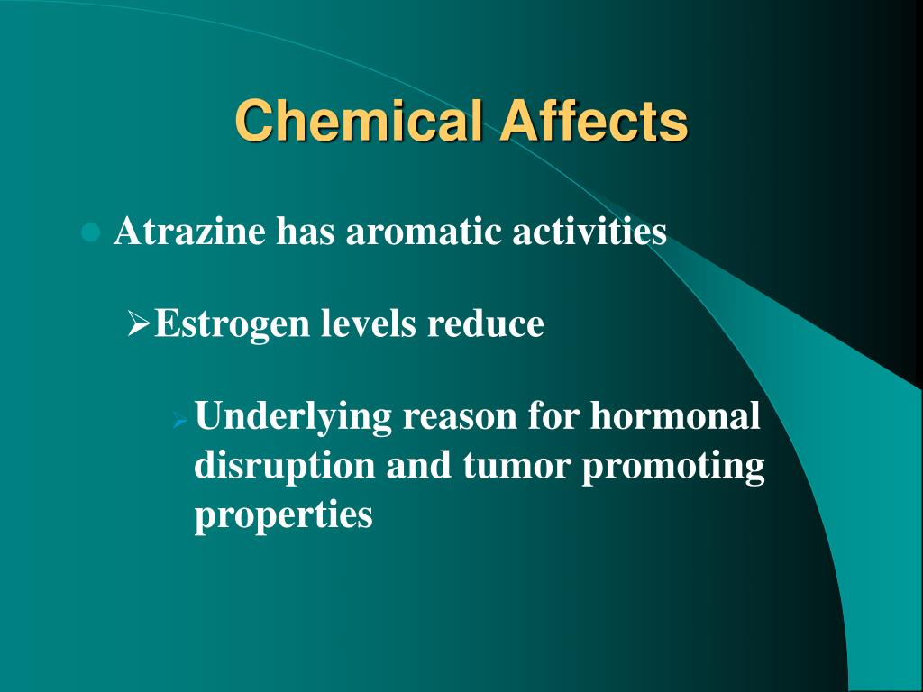 Chemical Affects