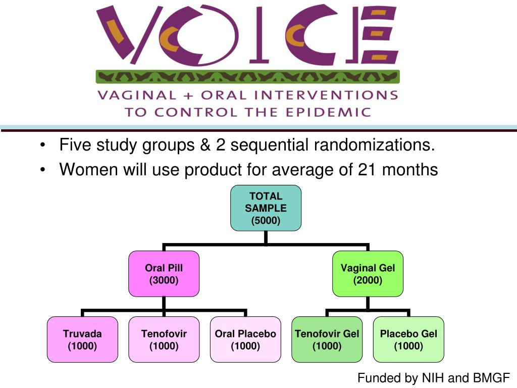Five study groups & 2 sequential randomizations.