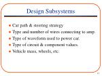 design subsystems