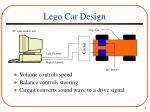 lego car design