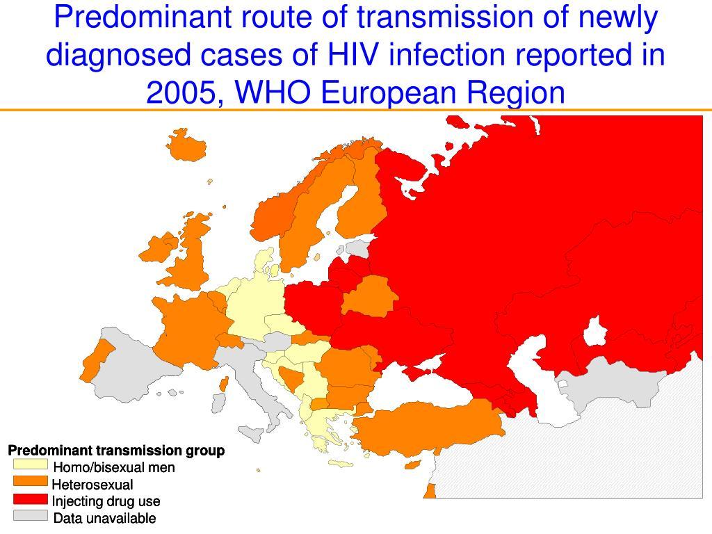 Predominant transmission group
