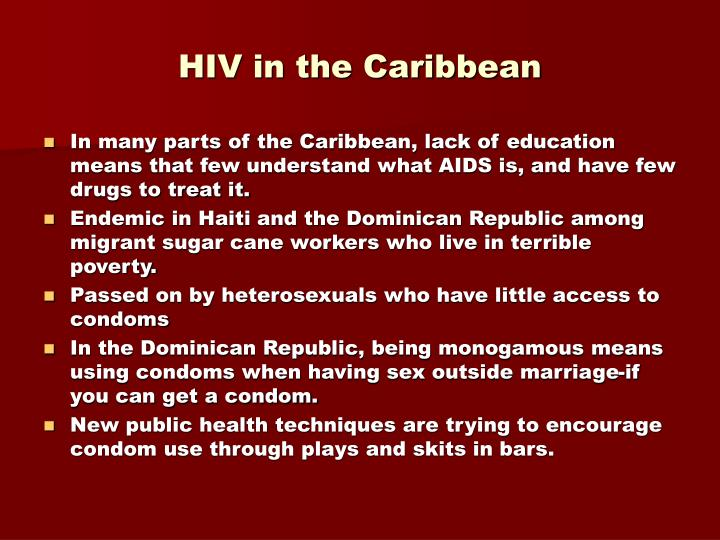 HIV in the Caribbean