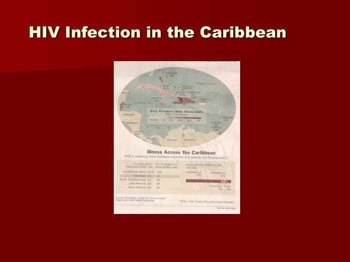 HIV Infection in the Caribbean