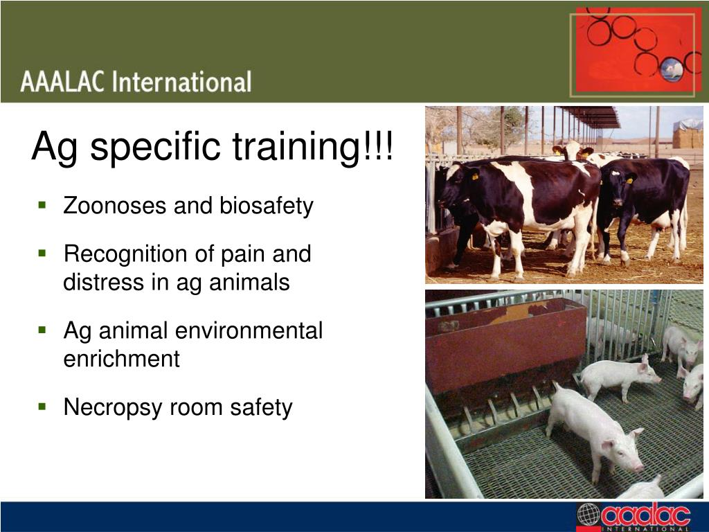 Ag specific training!!!