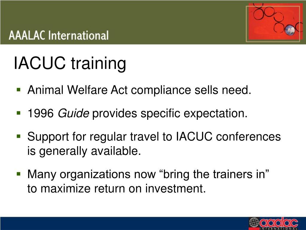 IACUC training