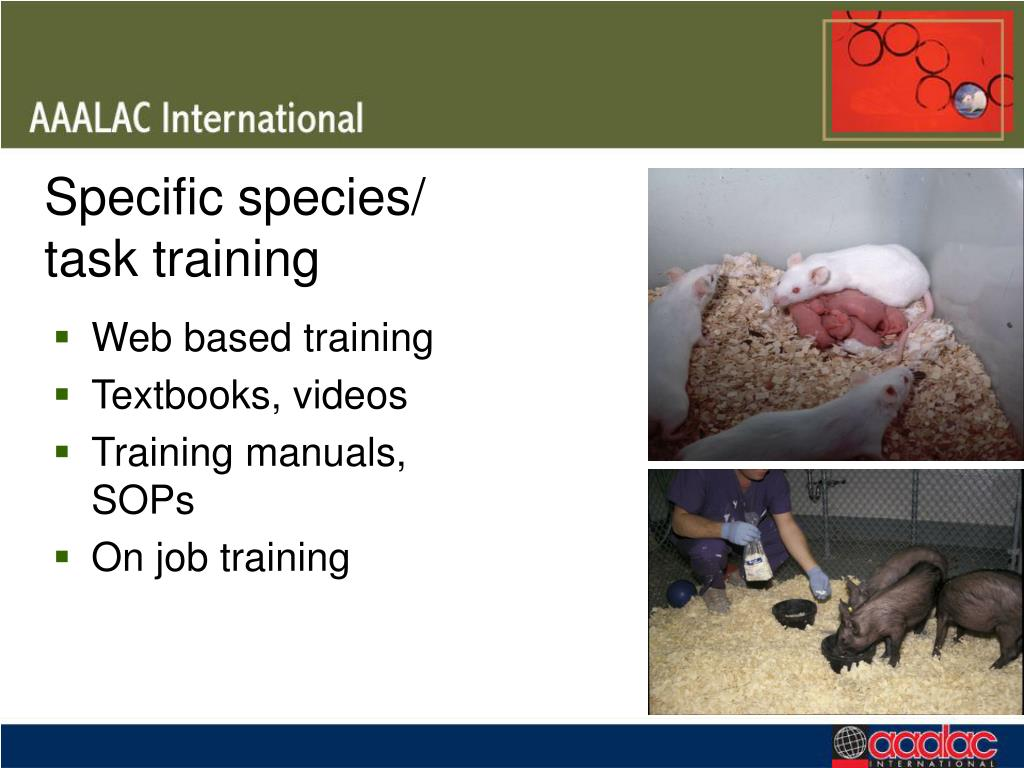 Specific species/
