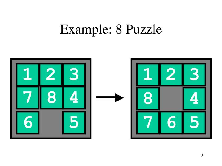 Example 8 puzzle