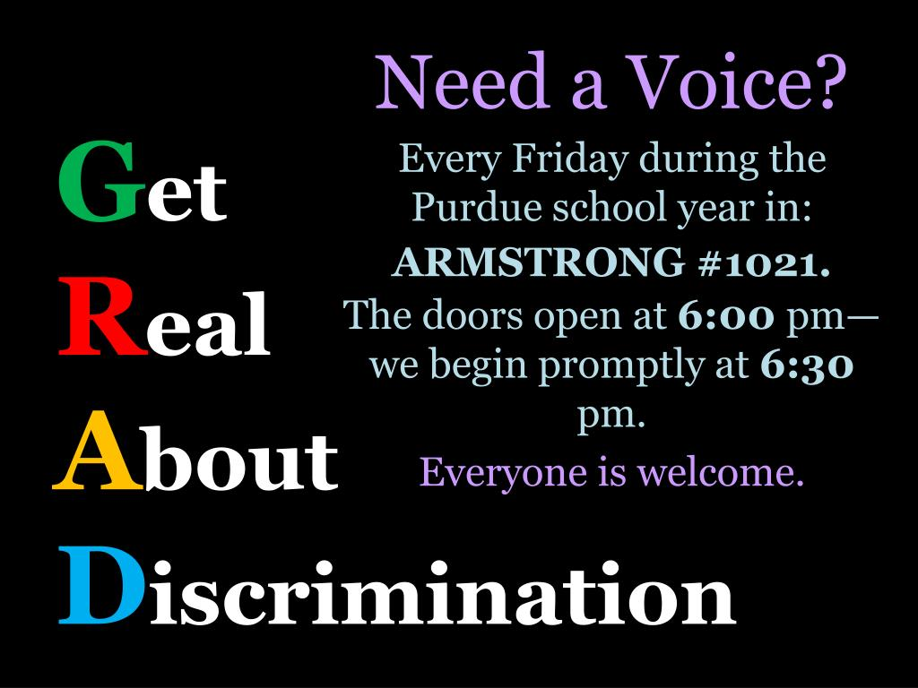 Need a Voice?