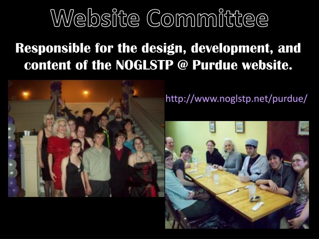 Website Committee