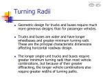 turning radii15