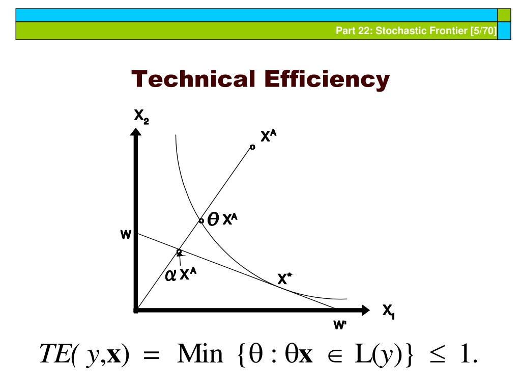 Technical Efficiency