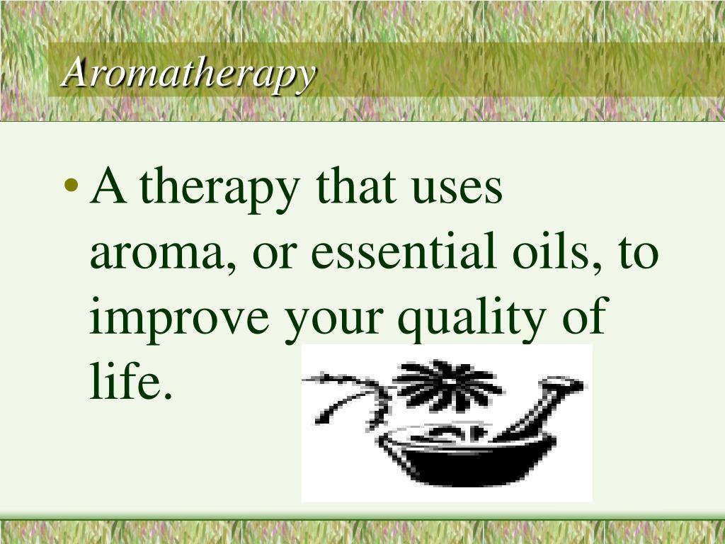 aromatherapy l.