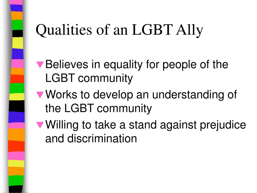 Qualities of an LGBT Ally