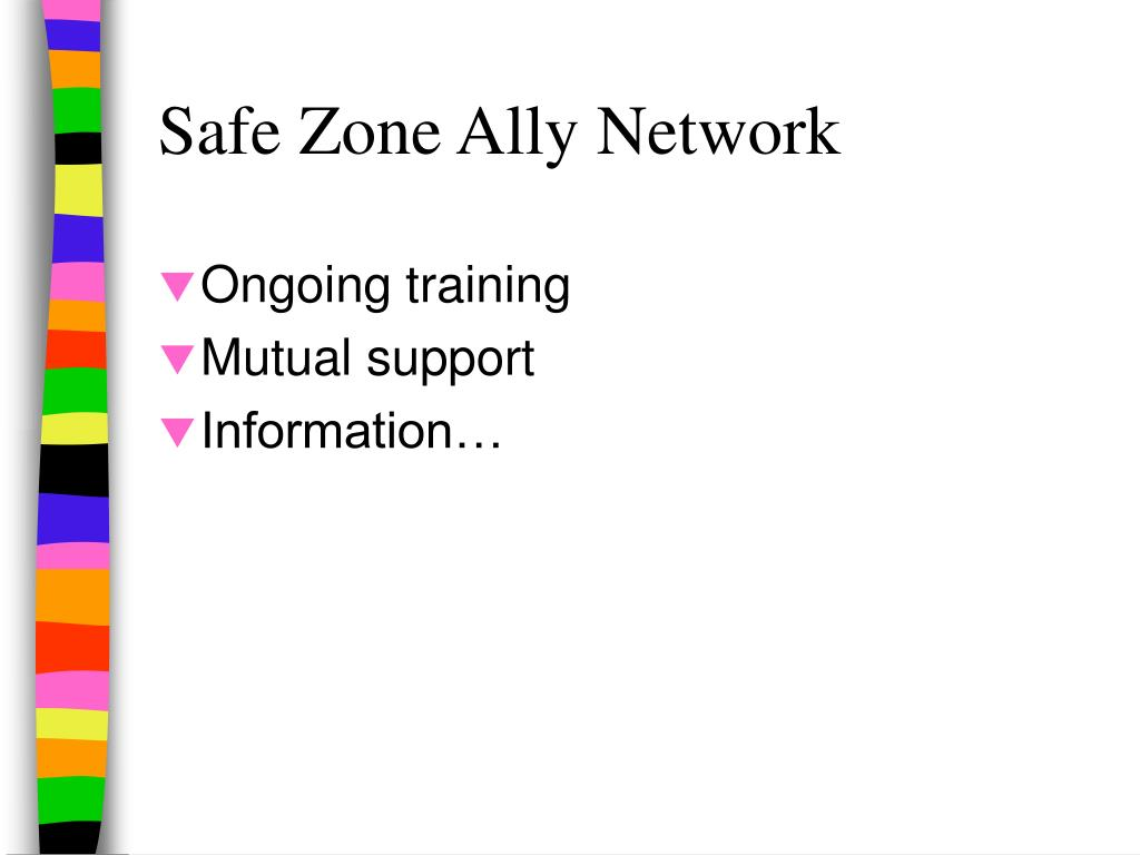Safe Zone Ally Network