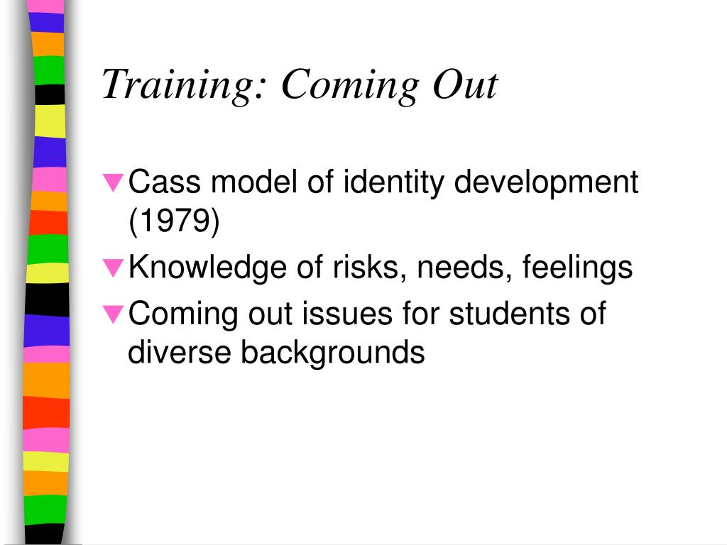 Training: Coming Out