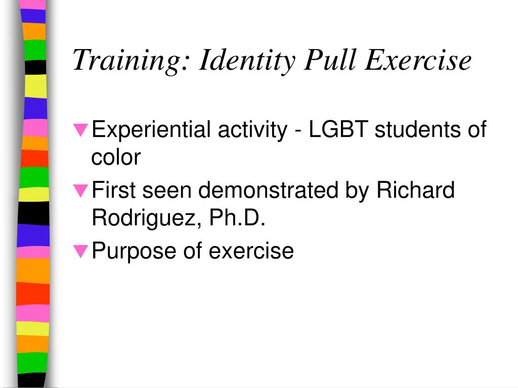 Training: Identity Pull Exercise