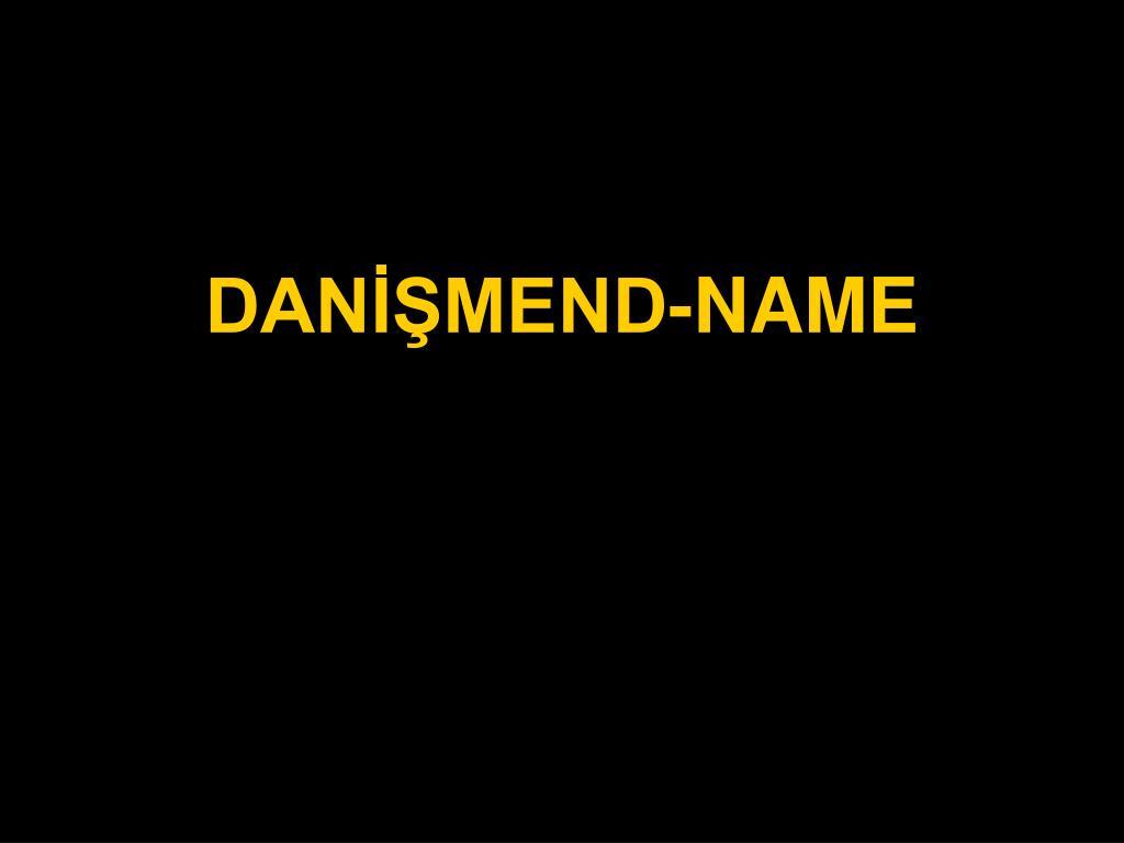 dan mend name