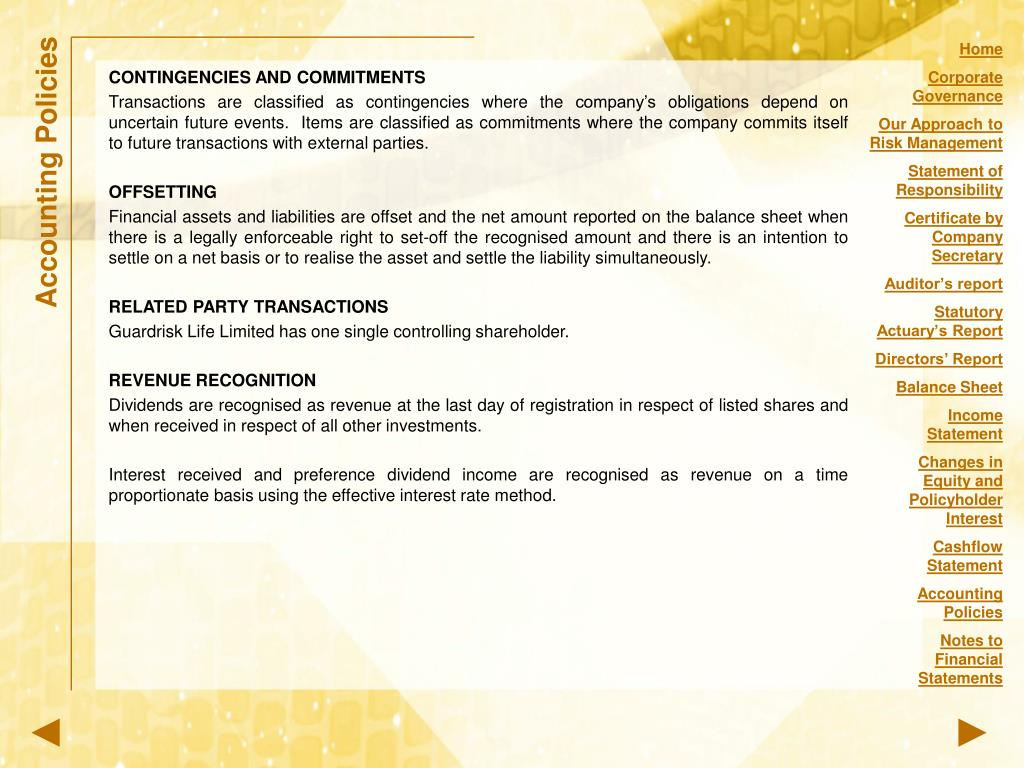 CONTINGENCIES AND COMMITMENTS