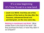 it s a new beginning it s time to eat in a new land32