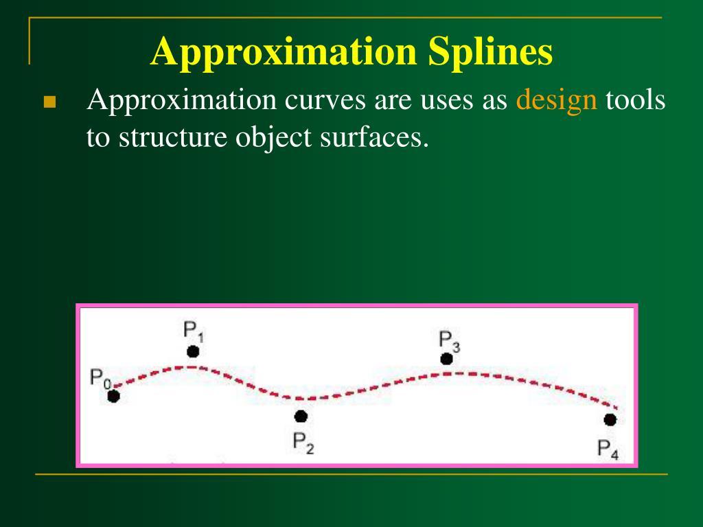 Approximation Splines