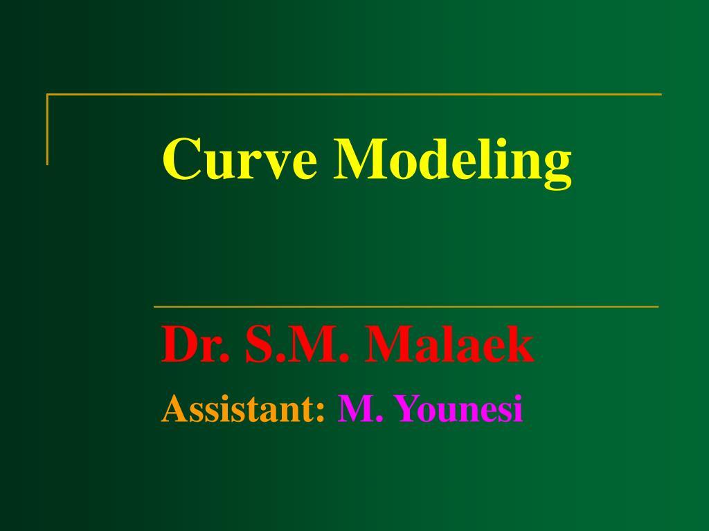 Curve Modeling