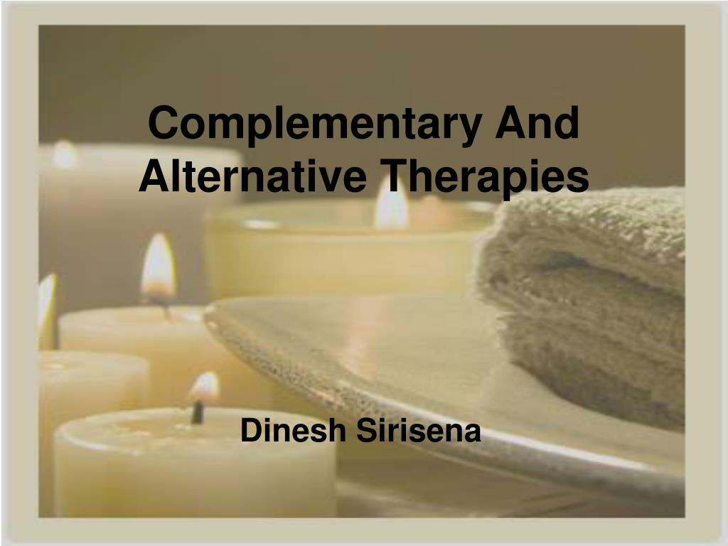 complementary and alternative therapies l.