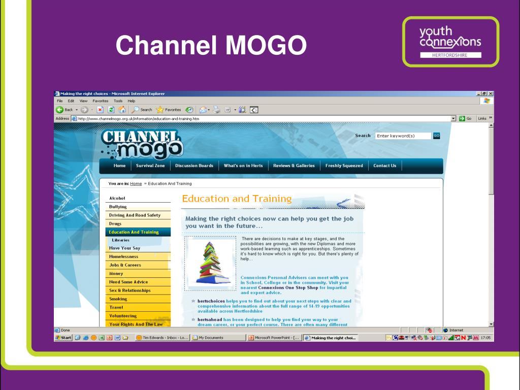 Channel MOGO