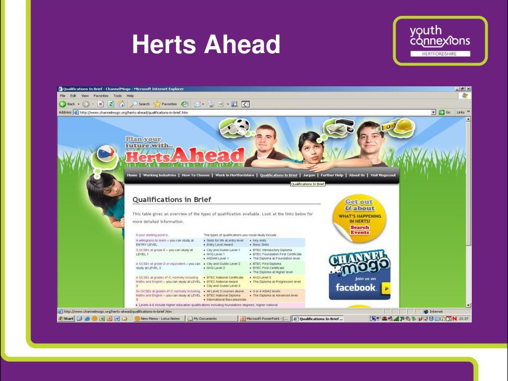 Herts Ahead