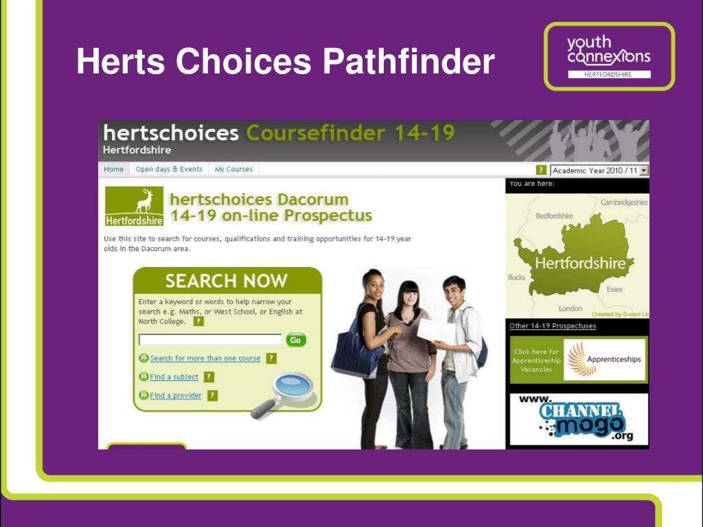 Herts Choices Pathfinder