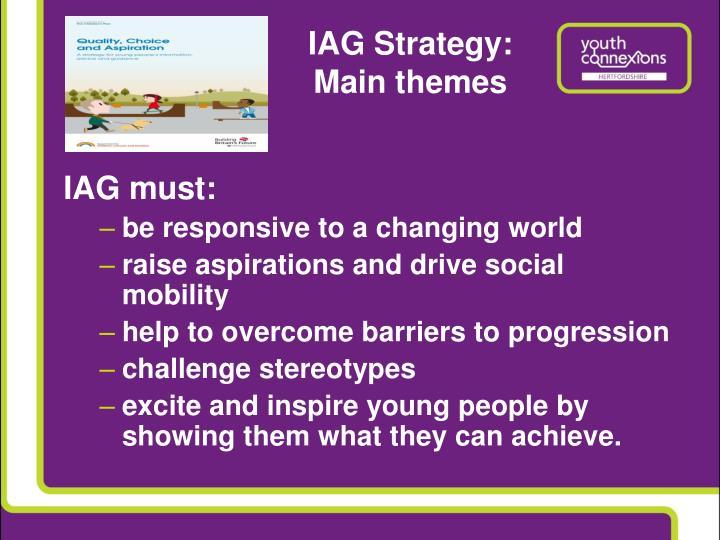 Iag strategy main themes