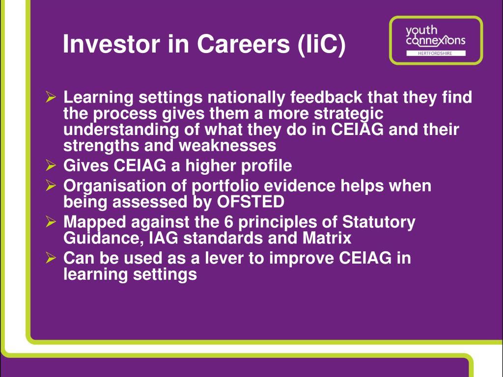 Investor in Careers (IiC)