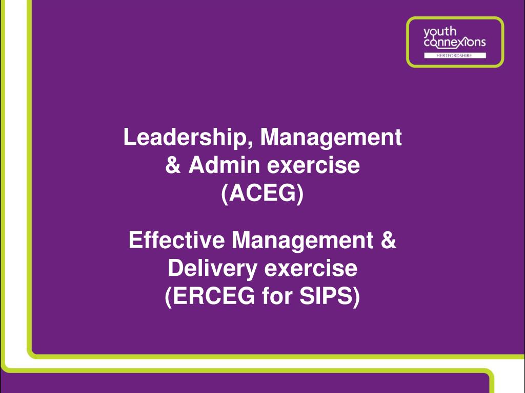 Leadership, Management