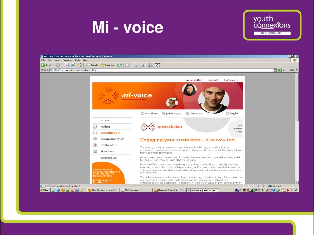 Mi - voice