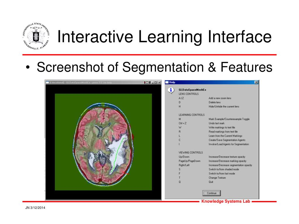 Interactive Learning Interface