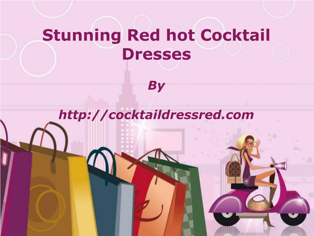 Stunning Red hot Cocktail Dresses