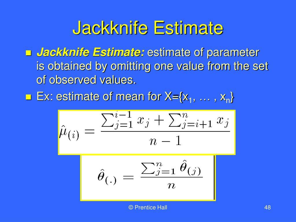 Jackknife Estimate