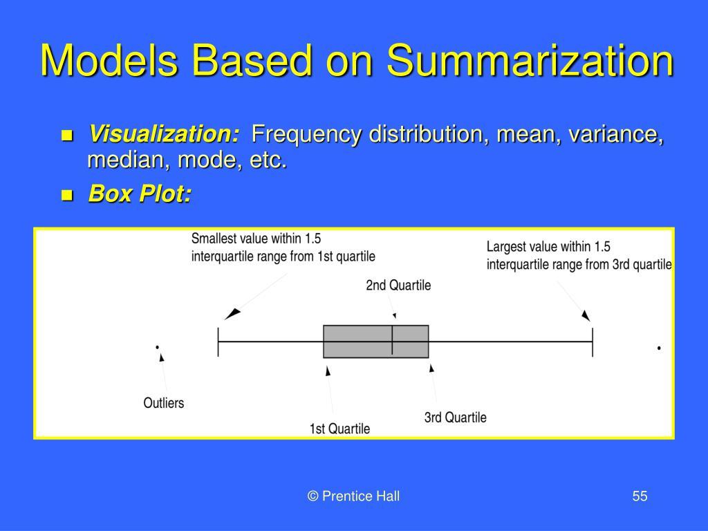 Models Based on Summarization