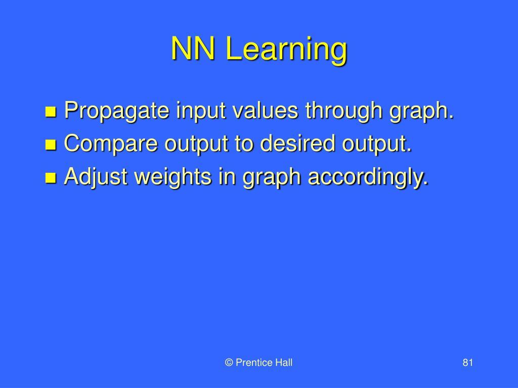 NN Learning