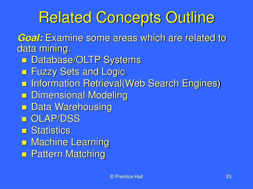 Related Concepts Outline