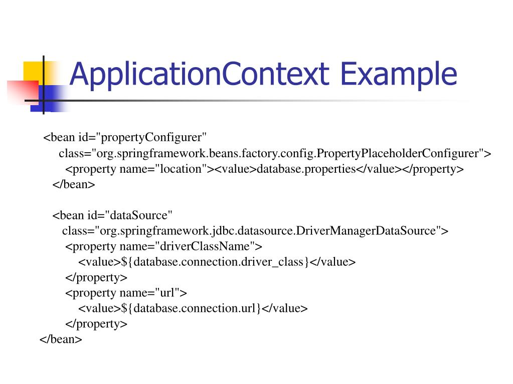 ApplicationContext Example