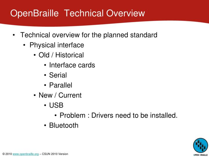Openbraille technical overview2