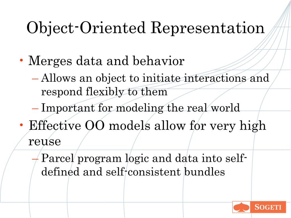 Object-Oriented Representation