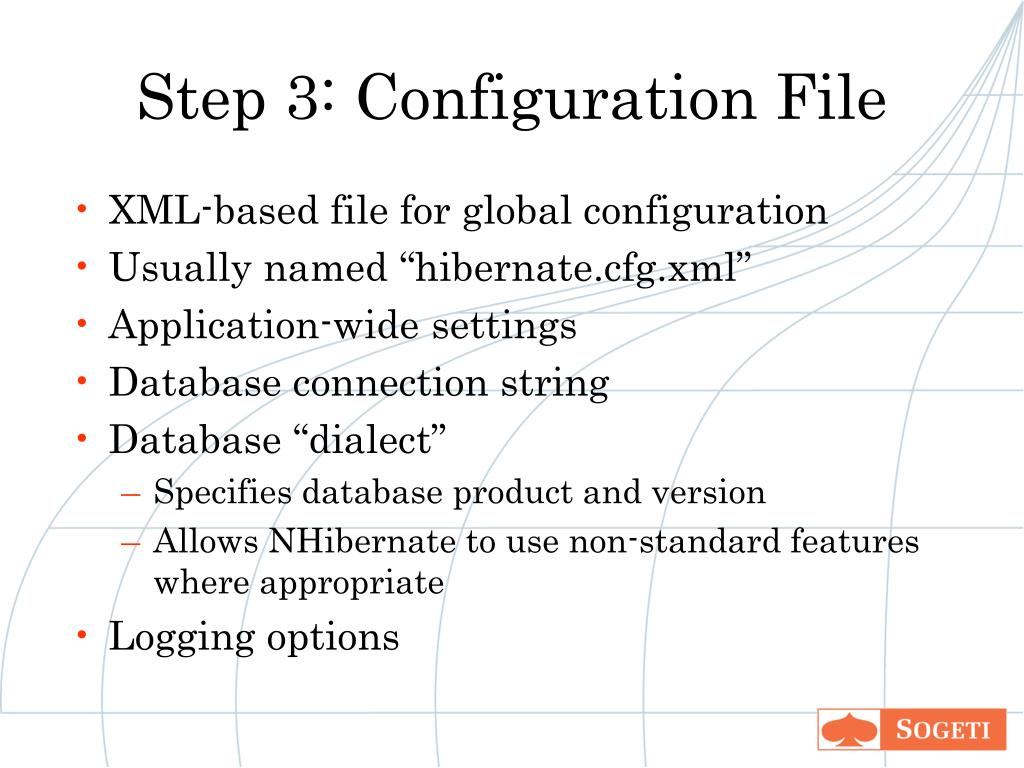 Step 3: Configuration File