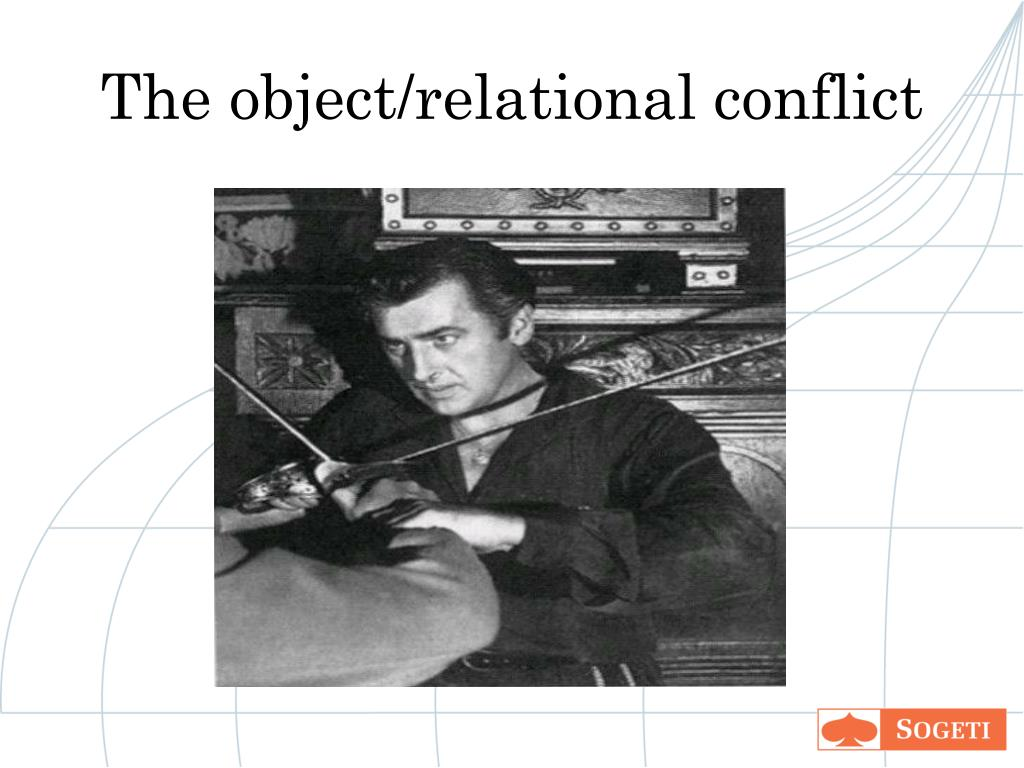 The object/relational conflict