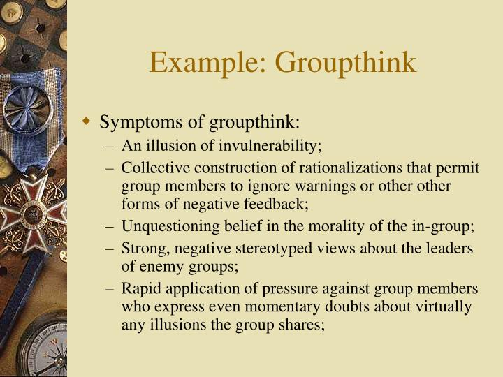 Example groupthink3